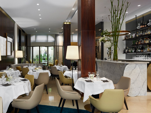 Dining at the Hotel Montalembert, Paris