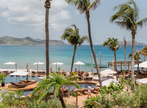 New Pool at the Christopher Hotel, Saint Barth