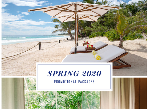 Hotel Esencia's Spring Promo Packages