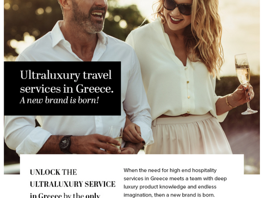 Ultra Luxury Travel with Eclectic Greece