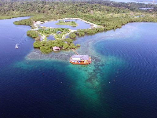 Sweet Bocas a 15-acre private island