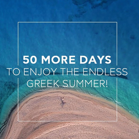 Continue your summer with Eclectic Greece