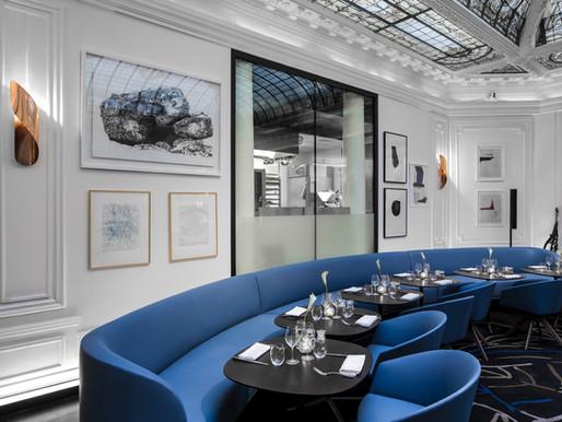 The V Restaurant at the Hotel Vernet, Paris