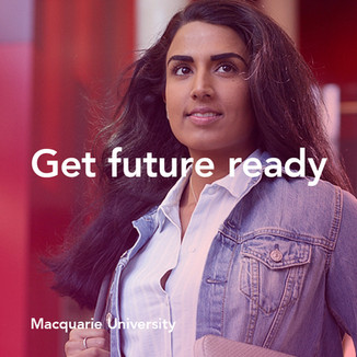 Get future ready at Maquarie University