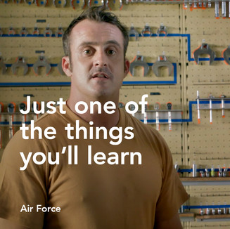 The things you'll learn at the Air Force