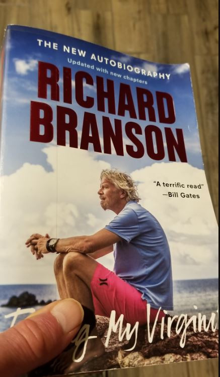 Finding My Virginity, Richard Branson
