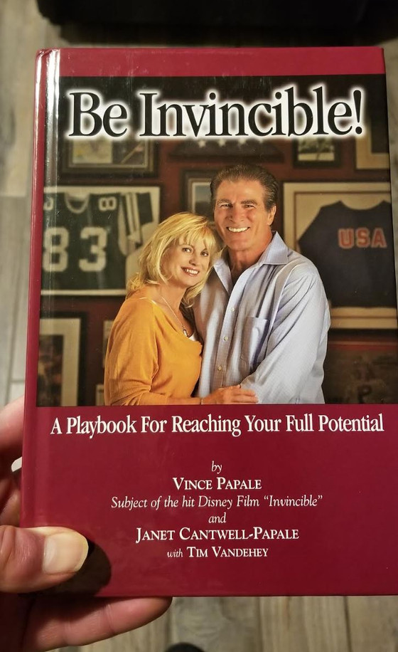 Be Invisible!, Vince Papale