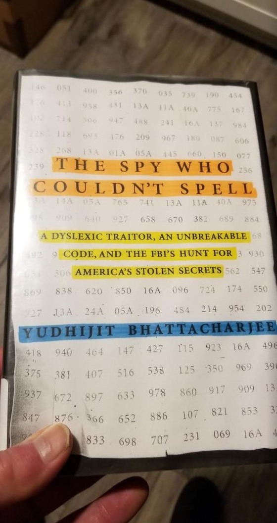 The Spy Who Couldn't Spell, Y. Bhattacharjee