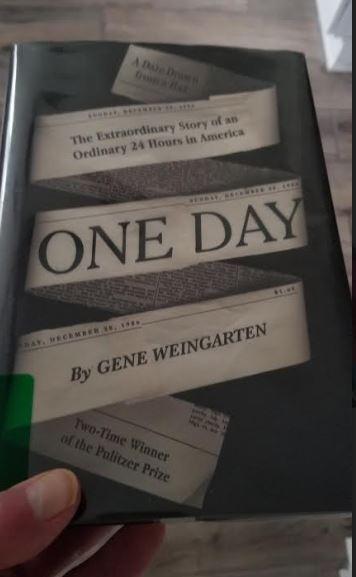 One Day, Gene Weingarten