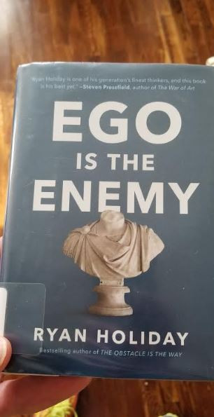 Ego is the Enemy, Ryan Holiday