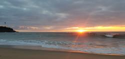 Anglet sunset