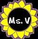 Ms. V in sunflower