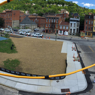 Grant Park start of construction