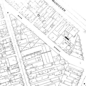 1887 Sanborn Fire Insurance maps