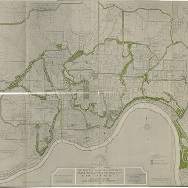 1907 Kessler Plan for the Cincinnati Park Board