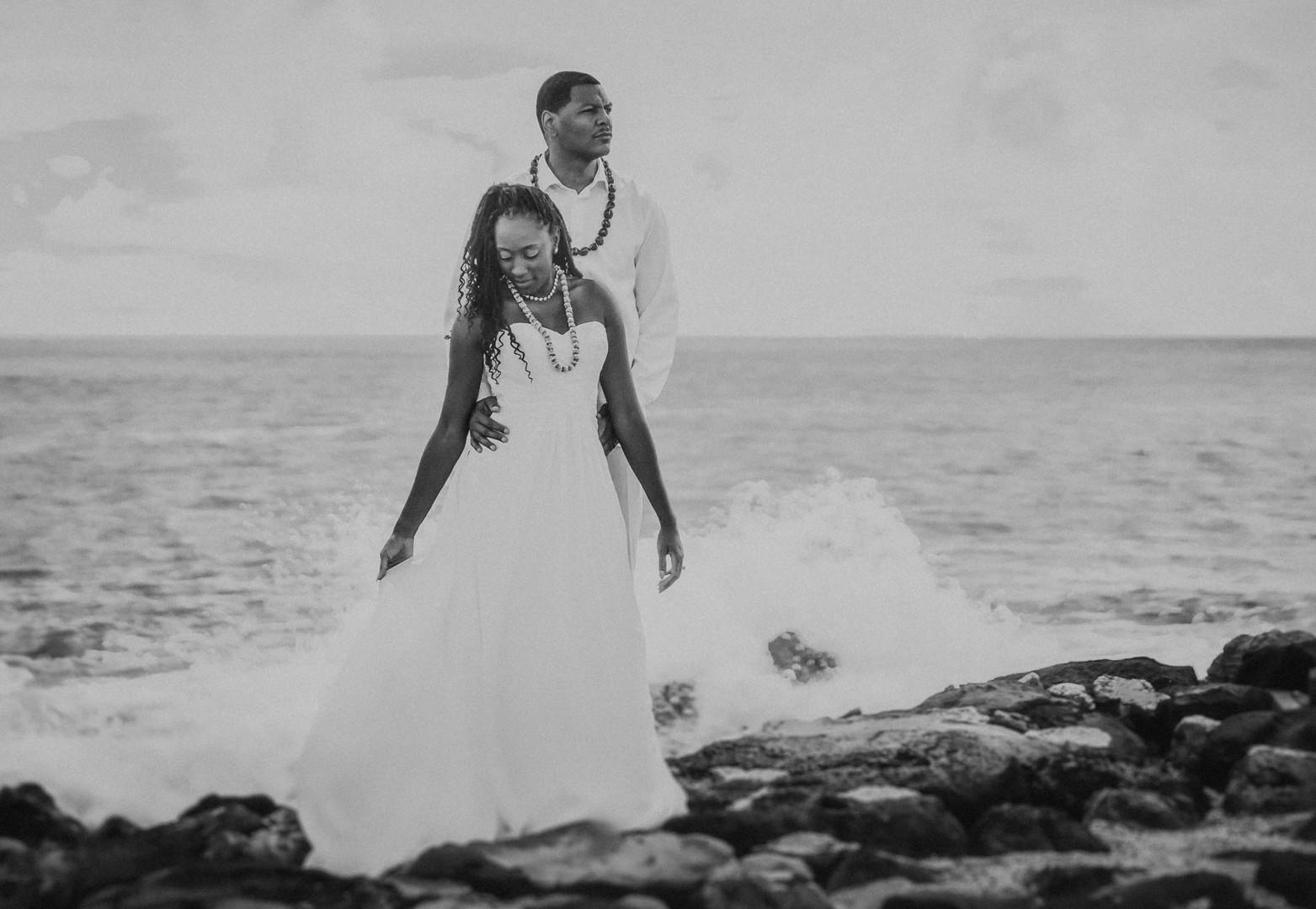 Feature Hawaii Wedding Photo