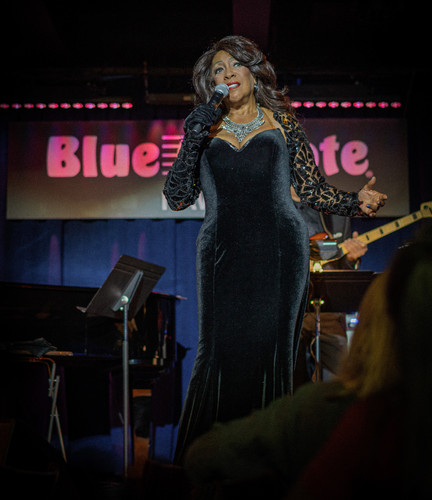 Mary Wilson performs at Blue Note Hawaii