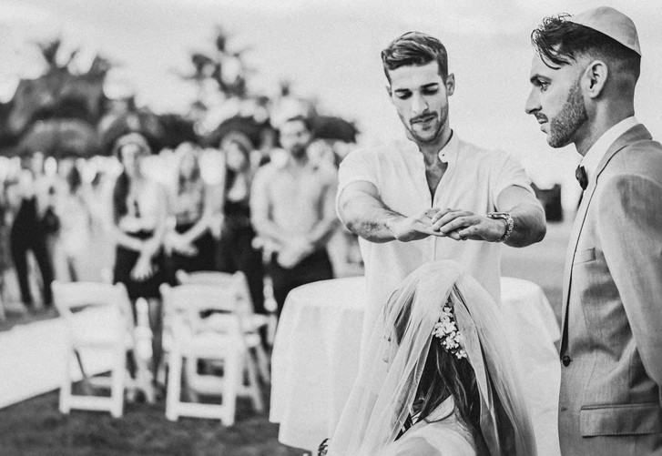Jewish Hawaii Wedding