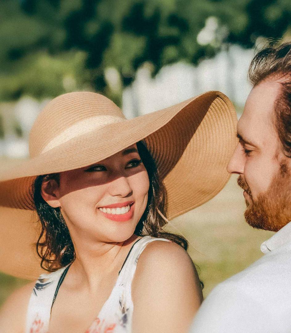 Fashion Engagement Photo Shoot