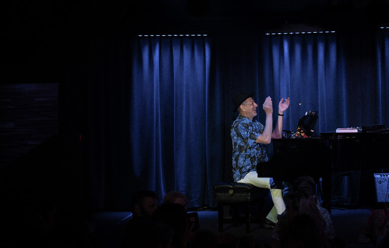 Jeff Goldblum performs at Blue Note Hawaii