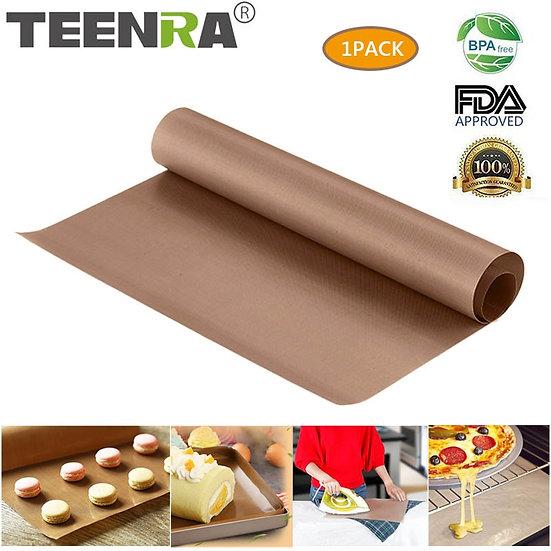 60x40cm Reusable Baking Mat Teflon Baking Sheet Heat-Resistant Grill Mat