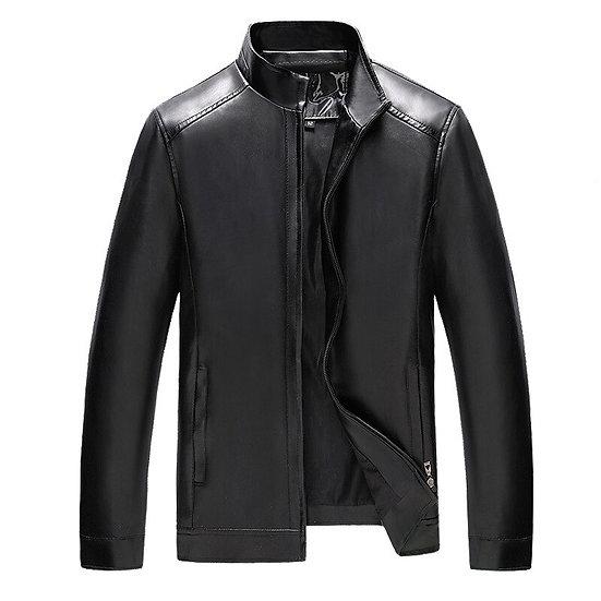 Men Genuine Leather Jacket Casual