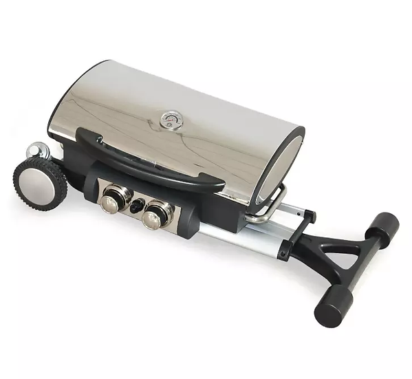 Portable Porcelain Cast Iron Propane Gas BBQ Barbeque