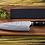Thumbnail: DAMASCUS Hand Hammered Steel Chef Knife - PakkaWood handle