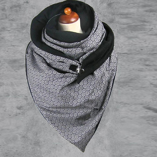 Women Winter Luxury Designer Scarf Wraps