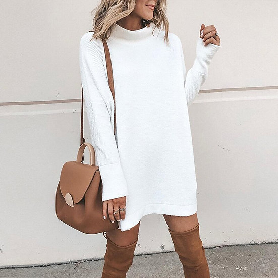 Loose Women Knitted Long Sleeve