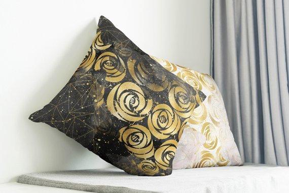 Floral Pillows Decorative Throw Pillow Cover