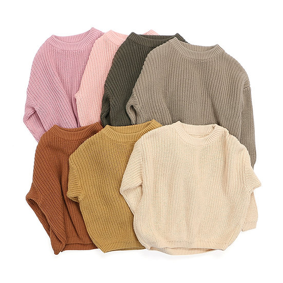 Winter Children Soft Warm Sweaters
