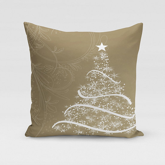 Golden Tree Pillow Cover