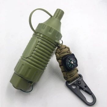 Portable Water Filter Straw Emergency Camping Equipment