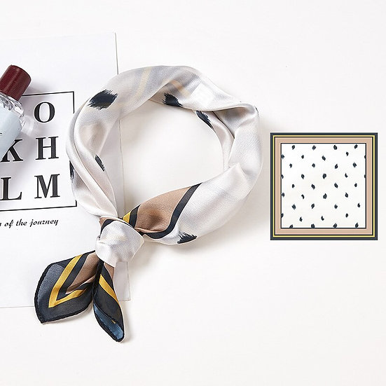 Silk Satin Hair Scarf for Women