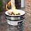 Thumbnail: Portable Porcelain Cast Iron BBQ Barbeque
