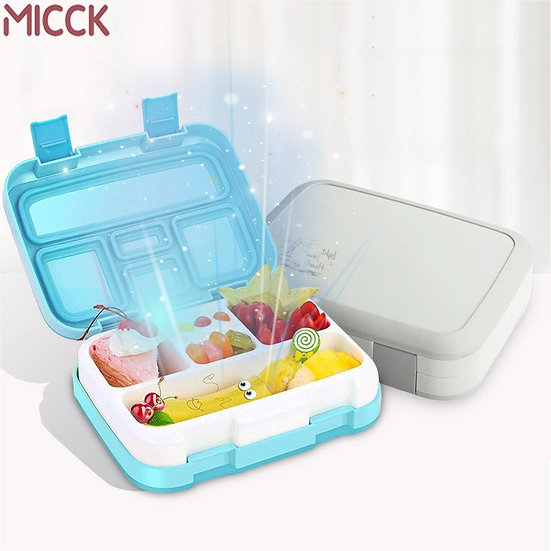 Portable Lunch Box for Kids Microwavable Bento Box Leakproof