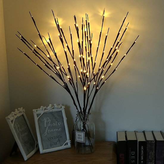 Creative 5PCS Battery Powered LED Branches Light