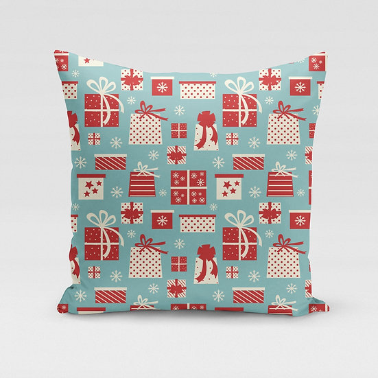 Gift Wrapped Pillow Cover