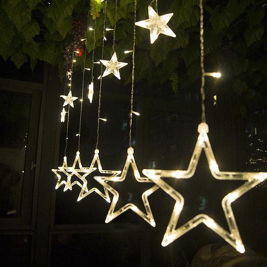 Meaningsfull 12 LEDs Romantic Fairy Star Led