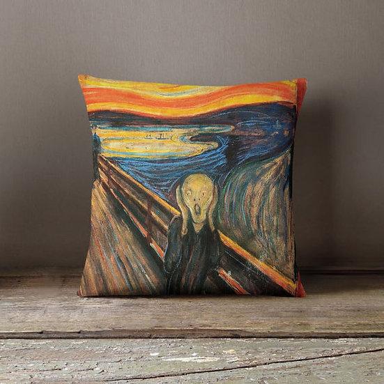 Munch Painting Decorative Throw Pillow Case Pillow