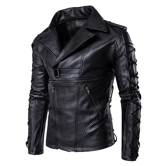 Motorcycle Jacket Genuine Leather