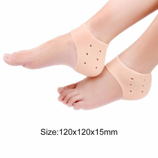 1Pcs Comfortable Gel Silicone Cracked Foot Heel