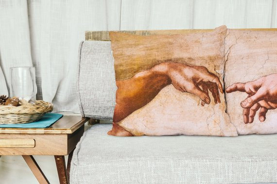 Michelangelo Art Pillow Set Living Room Decor