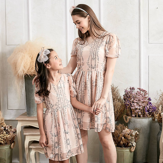(Set of 2) Floral Fit & Flare Dress
