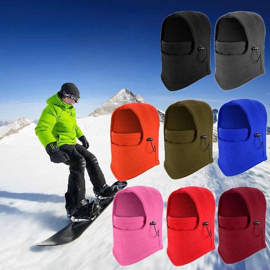 Ski Full Face Mask Cover Hat Cap