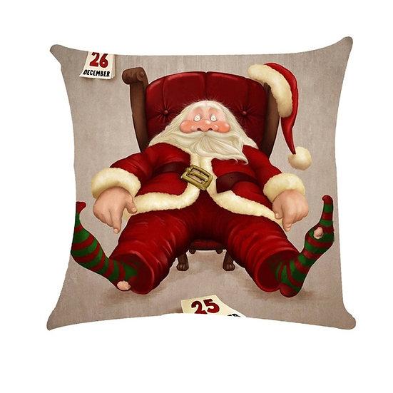 45x45cm Pillowcase For Merry Christmas Square Home
