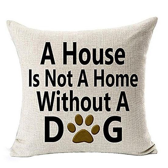 Best Dog Lover Gifts Cotton Linen Throw Pillow