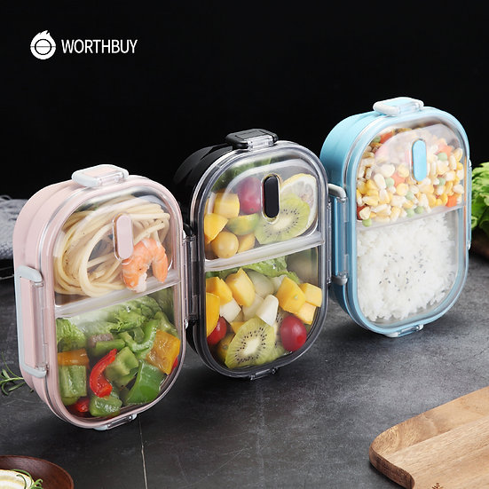 Portable Lunch Box for Kids School 304 Stainless Steel Bento Box