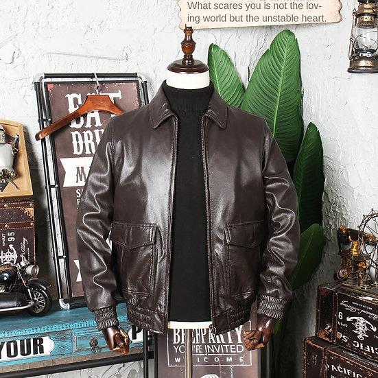 Full-Grain Leather Genuine Leather